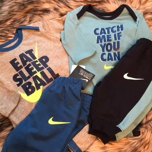 Nike Matching Sets - Nike 0/3 Month Lot NWOT